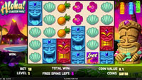 Aloha Cluster Pays free spins
