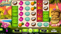 Spilleautomaten Aloha Cluster Pays fra NetEnt