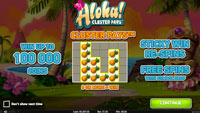 Aloha Cluster Pays utbetalingstabell