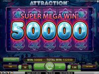 Attraction super mega win