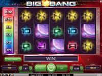 Big Bang spillevisning med multiplikator