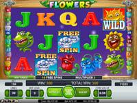 Flowers gratisspinn
