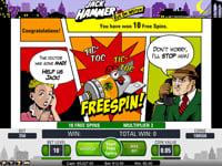 Jack Hammer free spins intro