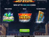 Wild Rockets spillvisning med mange wilds