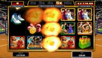 Free spins i spilleautomaten Basketball Star