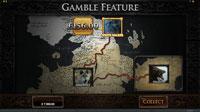 Gamble-funksjon på spilleautomaten Game of Thrones