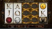 Spilleautomaten Game of Thrones - hovedspillet