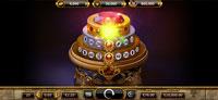 Bonusspillet med lykkehjul på spilleautomaten Empire Fortune