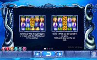 Gevinstinformasjon på spilleautomaten Legend of the White Snake Lady