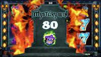 Mystery Win på spilleautomaten The Dark Joker Rizes