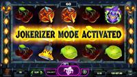 Jokerizer Mode på spilleautomaten The Dark Joker Rizes